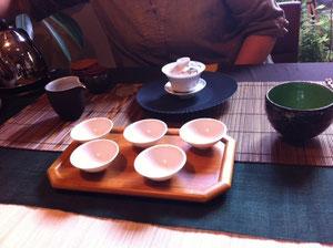 台湾の福寿山濃密な香り甘いお茶でした