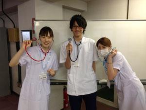 今回、体験に参加した生徒です。
