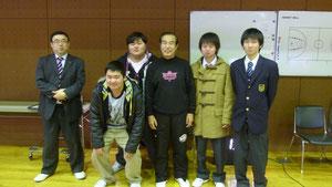 中村ヘッドコーチと記念写真まで取らせていただきました。ありがとうございました。