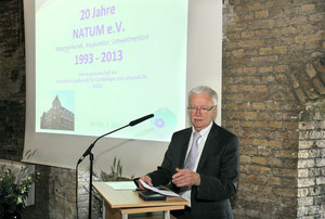 Begrüßungsworte des 1. Vorsitzenden Dr.med. Bernhard Ost