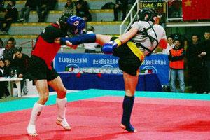 chinesisches Kick-Boxen (Sanda)