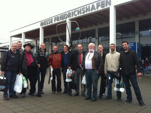 Gemeinsamer Ausflug nach Friedrichshafen