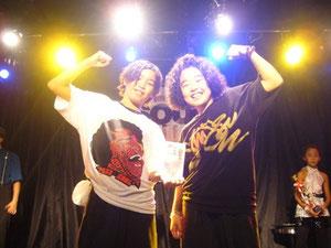準優勝:☆MACCHO☆ (nacchan、ena)