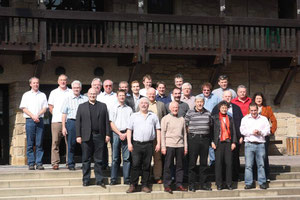 Gruppenbild der Klausurteilnehmer