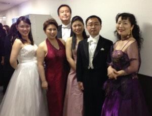 山田先生、エリア、そして女声ソリスト