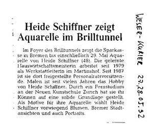 Weser-Kurier 27.05.1992