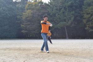 太田原のマウンド