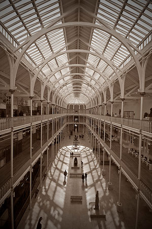 Juni 2012 - National Museum of Scotland -