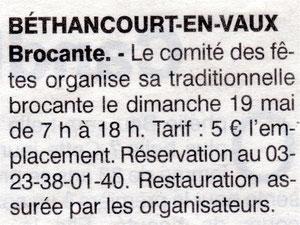 Annonce / l'Aisne Nouvelle.