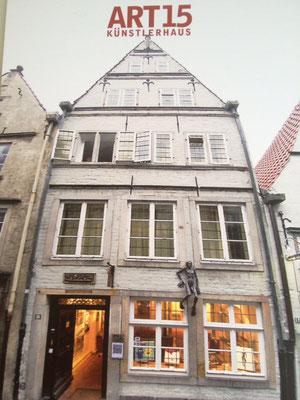 Galerie und Künstlerhaus Art 15, Schnoor 15, Bremen