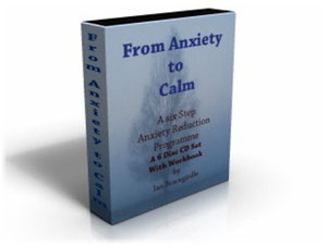 Anxiety to Calm CD set case picture