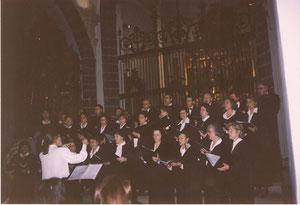 VII SEMANA POLIFONICA DE AREVALO (AVILA) IGLESIA PARROQUIAL DE Sto. DOMINGO DE SILOS, DIRECTORA CONCHA GARCIA ECHEVERRIA . 2000