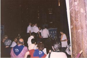 MISA DEL PEREGRINO (AÑO JUBILAR) EN SANTIAGO DE COMPOSTELA QUE JUNTO CON EL CORO GREGORIANO DE LA SANTA AMENIZARON LA MISA 1999