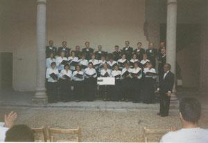 CONCIERTO CIUDADES PATRIMONIO, DIRECTOR FIDEL GARCIA FERNANDEZ . 1999