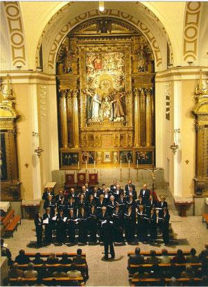 IGLESIA DE LA SANTA , PRELUDIO DE SEMANA SANTA 2003 . DIRECTOR JESUS FIDALGO