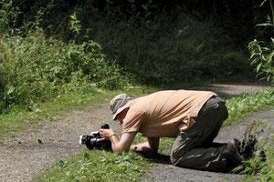 Making of im Zeitzer Wald. Foto:Wolfgang Fischer