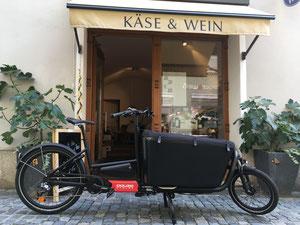 keine abgase, kein lärm: mein transportrad mit bis zu 110 kg zuladung