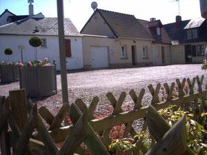 place du Soleil Levant ST Valéry sur Somme