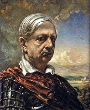 Giorgio de Chirico. Autoportrait.