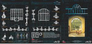 Plaquette de présentation Fineline - Gamme acier pour vérandas et verrière la plus fine du marché