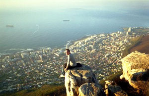 Atop the Lion's Head in Cape Town [2006]