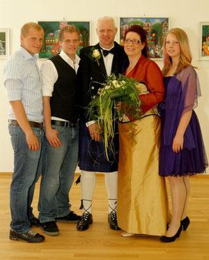 Michael, Alex, Christian, Andrea, Mirjam