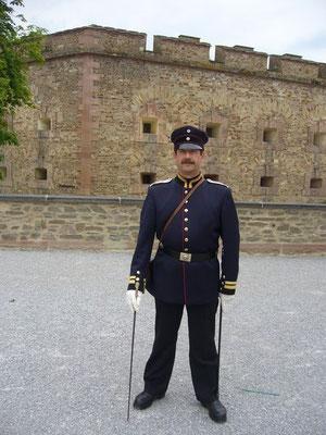 Festungskanonier Jörg Höfer (c) Nina Borowski 2011