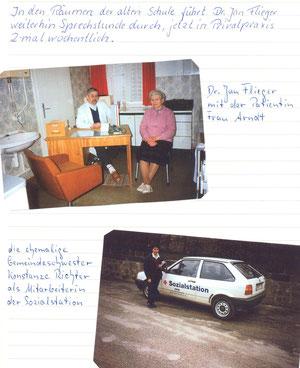 Bild: Seeligstadt Dr. Flieger Chronik 1991
