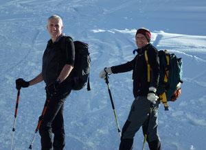 Auf Skitour mit'm Freund