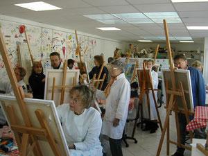 Où vous pourrez découvrir les artistes des 3 A en action
