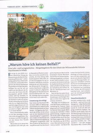 Gartenfreund, Ausgabe Januar 2013, Seite 1/16