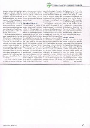 Gartenfreund, Ausgabe Januar 2013, Seite 1/17