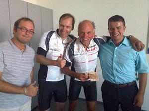 Herr Menneken, Ralf, Udo und Herr Börsig