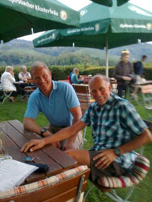 Freund Steffen organisierte das Quartier und den Kontakt zu Sponsor Stopa