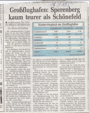 Berliner Morgenpost vom 18.01.1995
