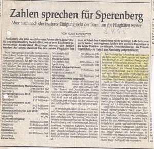 Tagesspiegel vom 3.4.1995