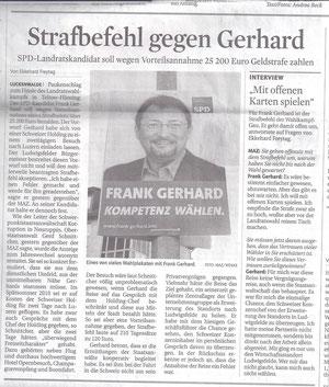 MAZ/Zossener Rundschau 16./17.3.2013