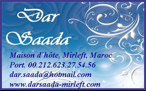 Dar Saada Mirleft Location