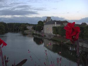 Tipico paesaggio della Senna (Saint Pierre lès Nemours)
