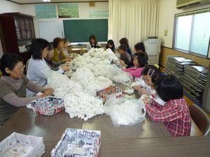 河内木綿のゴミ取り