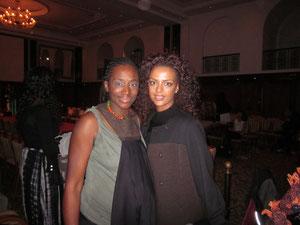 Nkechi Madubuko mit Dennenesh Zoude