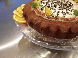 チョコレート グランマルニエ ケーキ