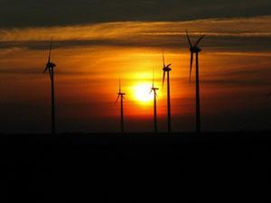 Foto: P. Feuster  Windkraftanlagen