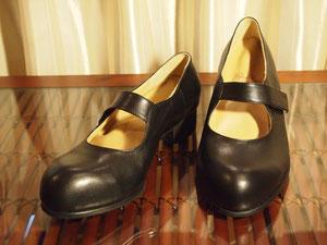 外反母趾靴 マジックストラップパンプス