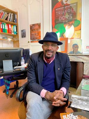 Kerfa Diallo, président fondateur de l'Association Mémoire et partages( photo N. Cherimbaud)