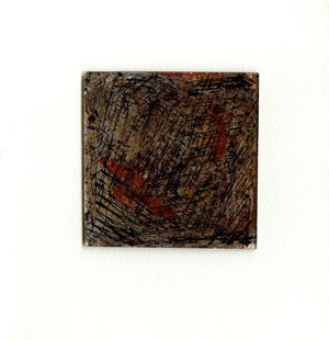 opera originale di Gian Carlo Bulli (misura 80x80 mm)