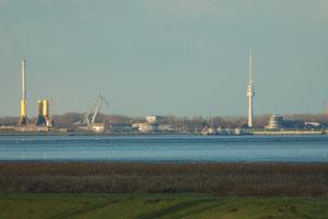 Wilhelmshaven von Süden