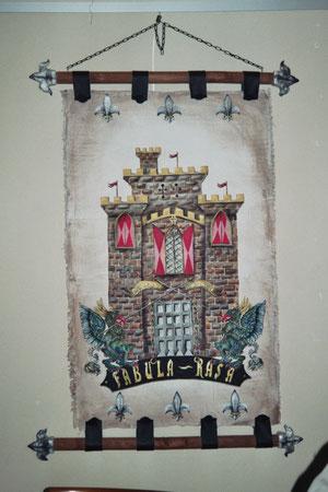 übergroßer Wandbehang Fabula Rasa, verkauft