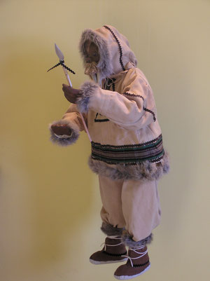 Walross als Inuk (Eskimo)