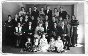 Hochzeit Ruth & Hans Schkade ( meine Großeltern ) 23. April 1949 Meißen